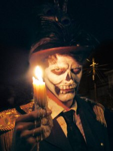 halloween-candle-wax